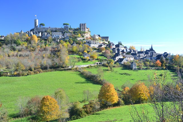 Turenne village correze France